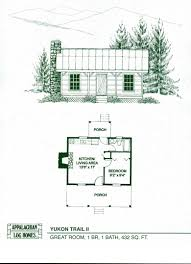 Little House Floor Plans by Log Home Package Kits Log Cabin Kits Yukon Trail Ii Model