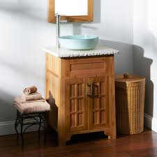 Bamboo Bath Vanity Cabinet 24