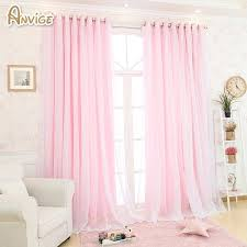 Light Pink Curtains For Nursery Light Pink Grommet Blackout Curtains Pink 63 Shabby