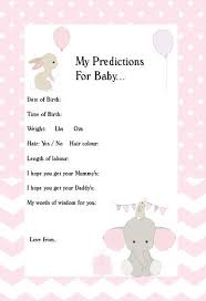 for baby shower best 25 baby prediction ideas on baby sprinkle