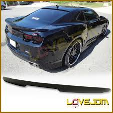 chevrolet camaro styles fit 10 13 chevrolet camaro zl1 style trunk spoiler wing painted