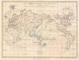 Map Of The New World by File 1799 Cruttwell Map Of The World On Mercator U0027s Projection