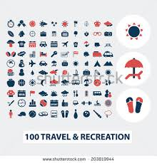 travel symbols images 100 travel vacation summer icons signs stock vector 203819944 jpg
