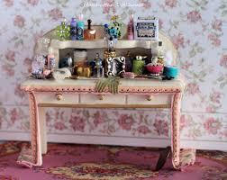 Pink Vanity Table Miniature Vanity Dressing Table In Pink 154 00 Manhattan