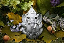 ganesha statue concrete garden outdoor ganesh is 5x5x5