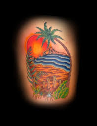 beach tattoo images u0026 designs