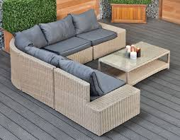 Patio Sectional Outdoor Furniture Outside Sofa Set Moderner Sectional Outdoor Sets Contemporary Patio