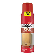 what is the best wood cleaner for cabinets magic 17 oz cabinet and wood aerosol cleaner with stay clean technology 3063 the home depot
