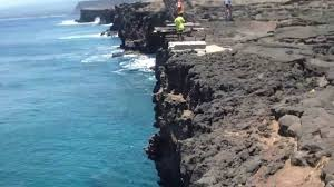 Hawaii travel talk images Traveltalk edge of the world south point big island jpg