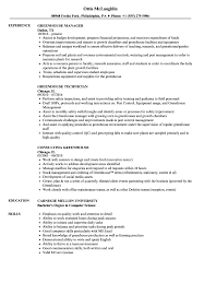 resume exles objective general english by rangers schedule greenhouse resume sles velvet jobs