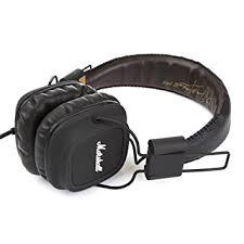 amazon black friday headsets amazon com marshall major headphones black home audio u0026 theater