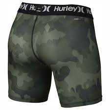 hurley drifit camo surf base short underwear green men s clothing