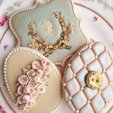 vintage cookies galletas elegantes vintage cookies
