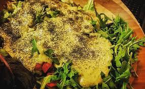 garlic dill salad dressing raw vegan and oil free