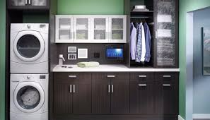 Laundry Room Storage by Custom Laundry Room Storage Space Within