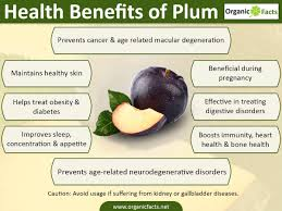 21 best benefits of plums organic facts