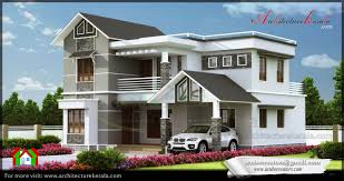 modern elevation 2000 sq ft architecture kerala