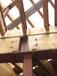 Residential Steel Beam Span Table by Steel Beam Over Steel Column With Tji Joists Above En Detalle