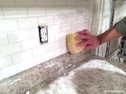 white subway backsplash how to install a kitchen backsplash the best and easiest tutorial