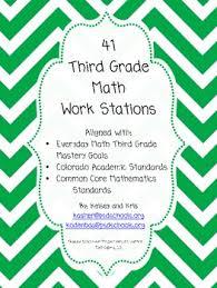 41 third grade math work stations all 3rd grade math standards