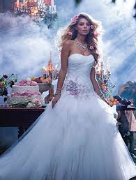 check out these disney princess wedding dresses