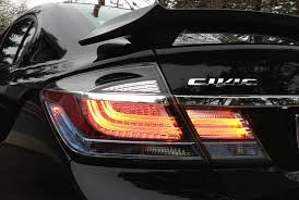 honda civic spoiler brake light civic si sedan deck lid spoiler vs factory wing w 3rd brake light