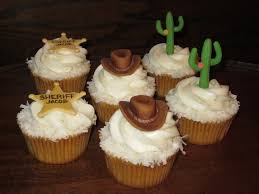 cowboy theme birthday cupcakes coconut cupcakes topped wit u2026 flickr