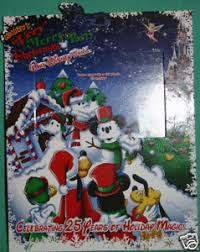 disney parks mickey merry christmas party 25 yr souvenir