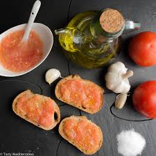 cuisine tomate pan con tomate style toast with tomato tasty mediterraneo