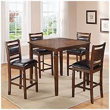 pub table and chairs big lots 5 piece wooden pub set with padded seats at big lots our first