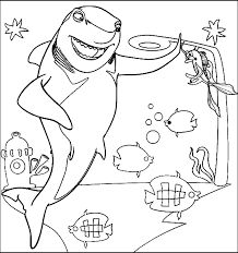 fresh shark tale coloring pages 42 coloring pages