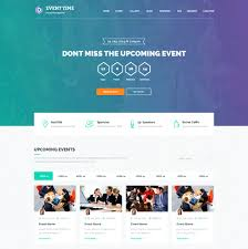 event planner template free website templates in css html js event