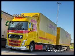 volvo truck photos volvo fh13 globetrotter viskadalens dhl swo916 s flickr