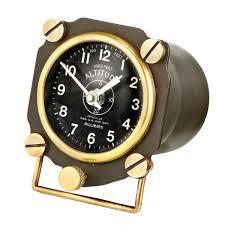altimeter display clock clocks display and aviation decor