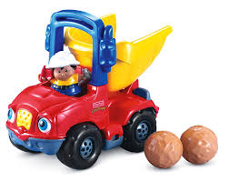 amazon com fisher price little people dumpety the dump truck