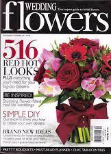 Wedding Flowers Magazine Wedding Flowers Magazine Ebay