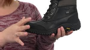 ugg s adirondack boot ii black grey ugg adirondack boot ii sku 7201307