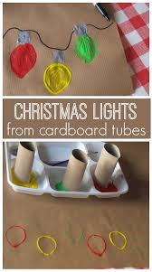 Christmas Light Bulbs Art Easy Art Projects Easy Art And