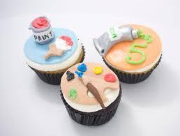 The Crimson Cake Blog Art U0026 Paint Themed Cookies And Cupcakes