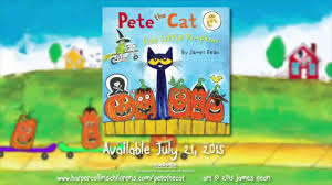 readalong pete the cat five little pumpkins sing along song
