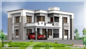 2400 square feet flat roof house kerala home design and floor plans