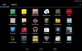 get sony u0027s xperia launcher u0026 widgets on your nexus 7 tablet