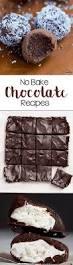 50 no bake chocolate recipes