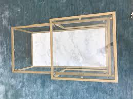 Vittsjo Coffee Table by Ikea Table Hack Gold U0026 Marble Diy Tutorial Smudgey