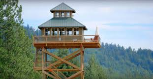 fire lookout tower house plans arts