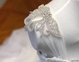 detachable wedding dress straps wedding dress straps etsy