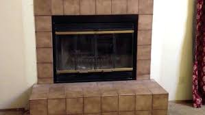 fireplace cleanout doors backyards fireplace doors how install the gallery install to prefab on stone brick