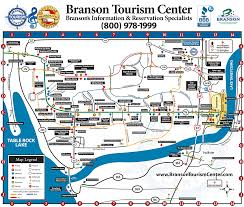 Tanger Outlet Map Map Of Branson U0027s Attractions Restaurants And Activities Spring
