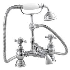 Bathroom Shower Mixer Ultra Traditional York Bath Shower Mixer W Shower Kit Chrome