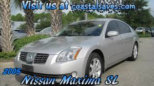 nissan maxima youtube ad maxima 2005 nissan maxima 3 5sl silver sports sedan youtube